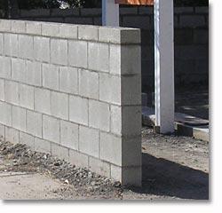 Santa monica landscape concrete walls patios pathways - Exterior concrete block finishes ...